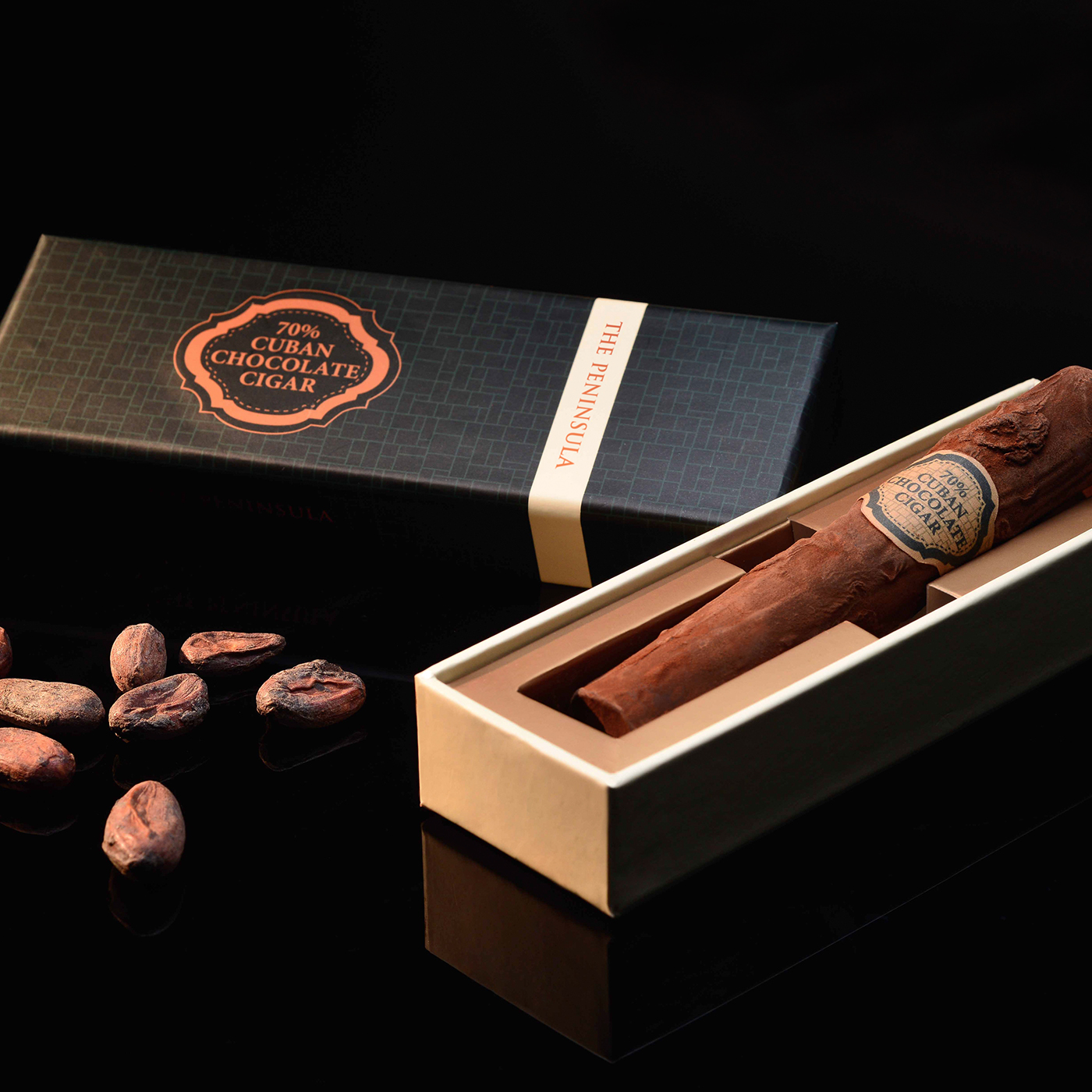 Artisanal Chocolate Cigar