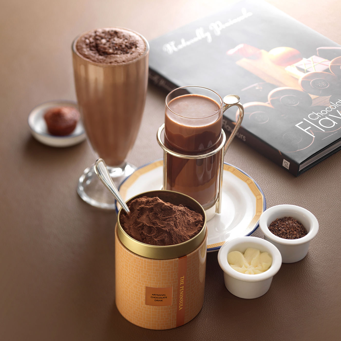 Artisanal Chocolate Drink - All-time Favourite at The Peninsula Lobby