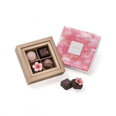 Assorted Truffles and Pralines – 4 Pieces