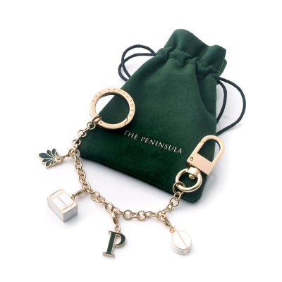 24K Gold plated Travel Charm