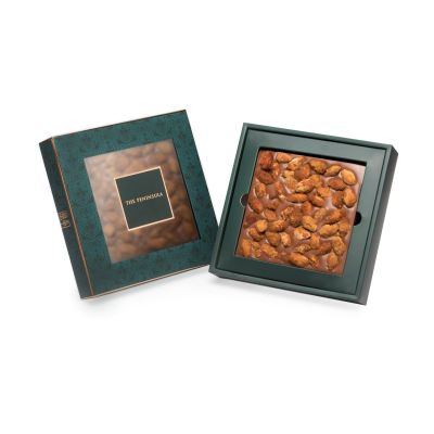 Milk Chocolate Tablet with Smoked Almonds