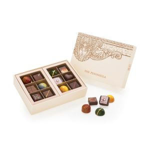 Appreciation Collection - Customised Chocolate Gift Box - 12 pieces